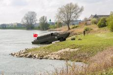 Commemoration Operation Cannonshot 2019 - Commemoration Operation Cannonshot 2019: A DUKW on the bank of the IJssel at the IJssel Crossing Memorial. A DUKW, pronounced as duck,...