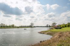 Commemoration Operation Cannonshot 2019 - Commemoration Operation Cannonshot 2019: A DUKW on the bank of the IJssel at the IJssel Crossing Memorial, a Ford GPA Jeep floating on the...