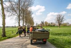 Commemoration Operation Cannonshot 2019 - Commemoration Operation Cannonshot 2019: A WWII jeep transporting a commemorative wreath. The jeep is on the way to the commemoration of...