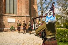 Commemoration Operation Cannonshot 2019 - Commemoration Operation Cannonshot 2019: The Dutch pipe and drum band the Highland Regiment Pipes and Drums performed at the commemoration...