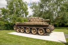 75th anniversary of D-Day - Classic Car Road Trip Normandy, 75 years after D-Day: A Centaur Tank at the Pegasus Memorial Museum at Ranville. The Centaur tank was...
