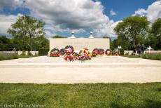 75th anniversary of D-Day - Classic Car Road Trip Normandy, the 75th anniversary of D-Day: The Bény-sur-Mer Canadian War Cemetery is the last resting...