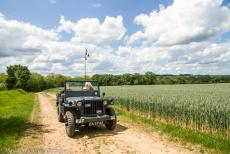 75th anniversary of D-Day - Classic Car Road Trip: With a Ford GPW Jeep to Normandy for the 75th anniversary of D-Day. Each five years, owners of WWII vehicles...