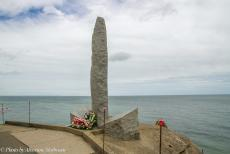 75th anniversary of D-Day - Classic Car Road Trip Normandy, 75 years after D-Day: WWII Pointe du Hoc Ranger Monument. Pointe du Hoc is one of the most impressive...