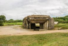75th anniversary of D-Day - Classic Car Road Trip Normandy, 75 years after D-Day: The remains of a German WWII casemate at Pointe du Hoc. At the end of 1942, the Germans had...