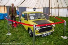 IMM 2019 Bristol - Classic Car Road Trip, IMM 2019 Bristol: The Mini of Mr. Bean exhibited at the IMM in Bristol, the 1977 Mini 1000 was used in the...