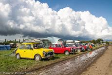IMM 2019 Bristol - Classic Car Road Trip, IMM 2019 Bristol: After a severe storm and several heavy rain showers, the paths and some parts on the campsite were...