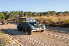 75 years after the Battle of Arnhem - Classic Car Road Trip: A 1940 Humber Military Super Snipe Utility Car on Ginkel Heath during the 75th anniversary commemorations of the...