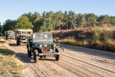 75 years after the Battle of Arnhem - Classic Car Road Trip: A 1942 Ford GPW Jeep driving on Ginkel Heath 75 years after the Battle of Arnhem to join the 75th...