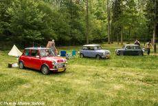 Lithuania 2015 - Classic Car Road Trip from the Netherlands to Lithuania: Camping the Wolfsschanze at the Masurian village of Gierłoż nearby Kętrzyn. The...