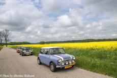 Lithuania 2015 - Classic Car Road Trip, from the Netherlands to Zarasai in Lithuania in Mini Authi, a Mini MPI and a Mini SPI. In the north-eastern part of Poland,...