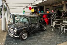 Lithuania 2015 - Classic Car Road Trip Lithuania: To celebrate the 40th anniversary of the Mini, several celebrities were asked to design their own mini. One of...
