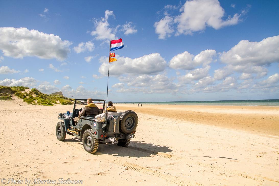 Normandy 2014 - Classic Car Road Trip Normandy: A road trip in a 1942 Ford GPW World War II Jeep along the coast of Normandy. We visited the historic D-Day...