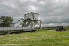 Normandy 2014 - Classic Car Road Trip Normandy: The original Pegasus Bridge, on display in the Pegasus Memorial Museum in Ranville. In the early hours of D-Day,...