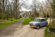 Stuyvesant Tour - Stuyvesant Tour 2017: Our Mini Authi in front of the 17th century Westerbeek House in the small village of Frederiksoord, one of the former...